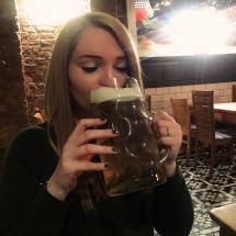 Brass Monkey Beer Stein