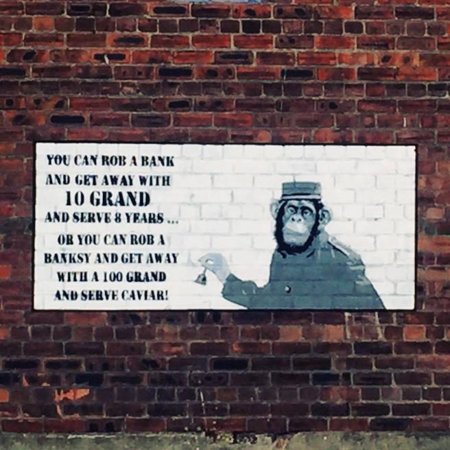 Banksy Street Art Liverpool