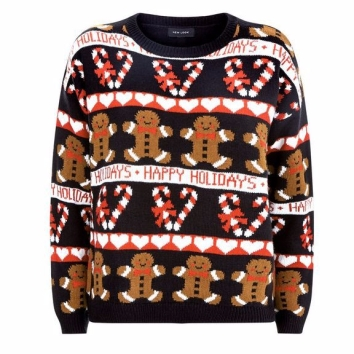 Gingerbread Christmas Jumper