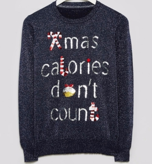 Christmas Calories Don't Count Jumper