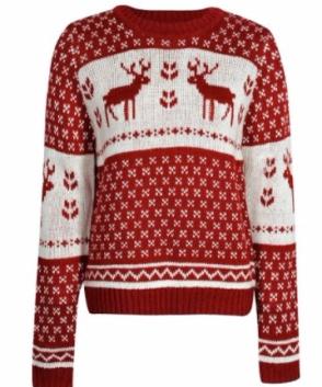Fair Isle Reindeer Jumper