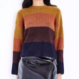 Mustard Colour Block Jumper