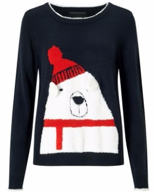 Navy Polar Bear Jumper