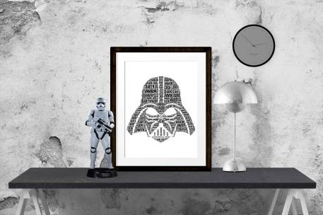 Star Wars Darth Vadar Art Print