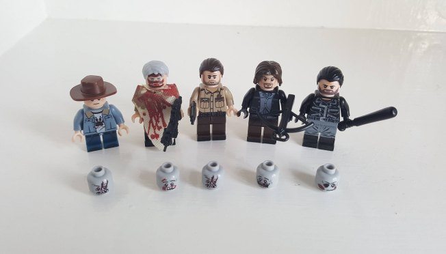 Walking Dead Lego Figure
