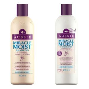 Aussie Miracle Moist Shampoo & Conditioner