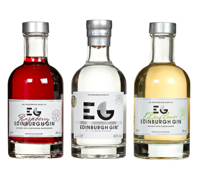 Edinburgh Gin Liqueur Selection