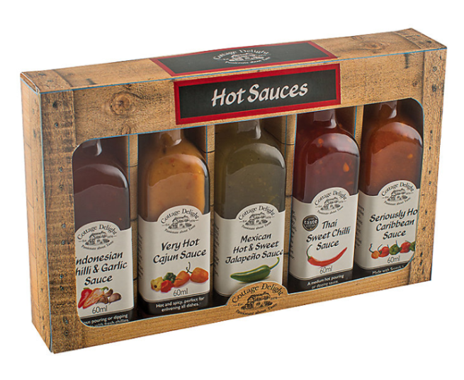 Cottage Delight Mini Hot Sauces Set