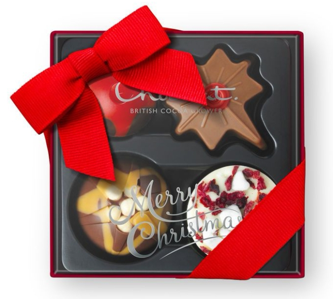 Hotel Chocolat Christmas Chocolates Mini Selection