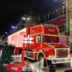 Coca Cola Truck Liverpool