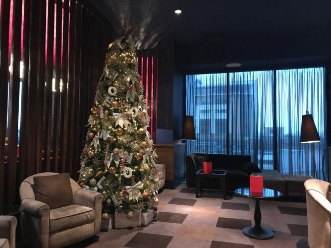 Malmaison Liverpool Christmas Tree