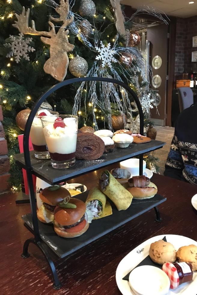 Malmaison Liverpool Festive Afternoon Tea