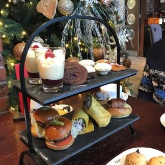 Festive Afternoon Tea Malmaison Liverpool