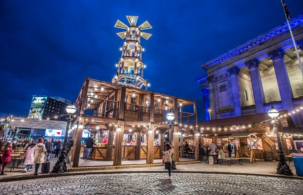 Liverpool Christmas Markets