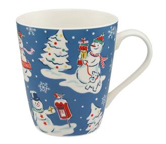 Cath Kidston Snowmen Mug