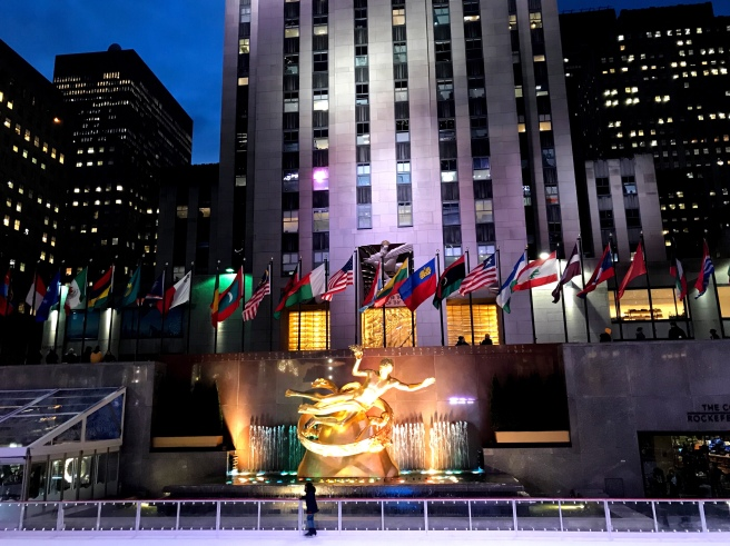 Rockefeller Center NYC
