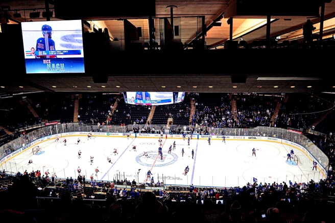 New York Rangers Madison Square Garden NYC